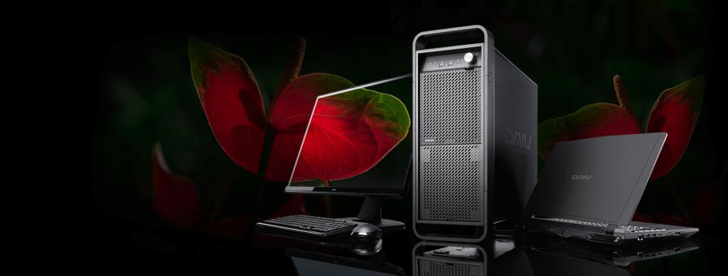 クリエイターパソコン「DAIV」 BTOショップ マウスコンピューター